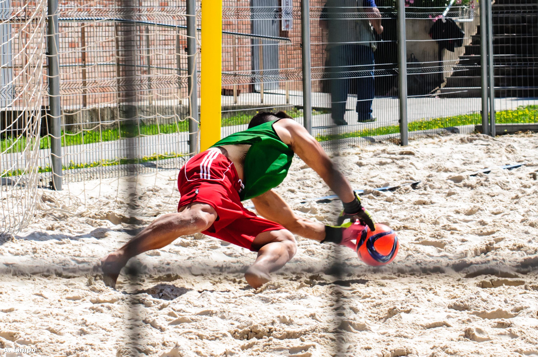 Entrenament futbol platja selecció espanyola. Foto de districte IX Imatge