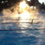 Foto piscina matinada