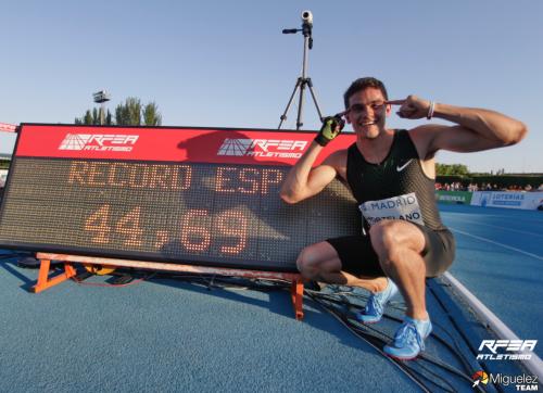 Bruno Hortelano récord de España