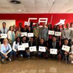 Cloenda curs ciències esport entrenadors Solidaritat Olímpica