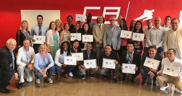 Cloenda Curs ciències de l'esport entrenadors solidaritat Olímpica