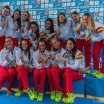 Waterpolo Femenino España Tarragona 2018