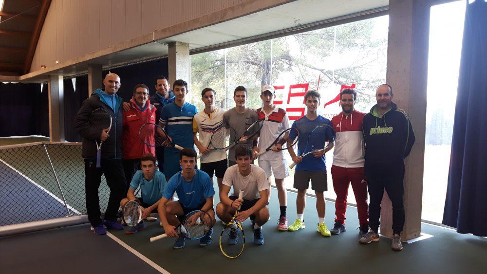 RFET CAR tennis espanyola concentracio